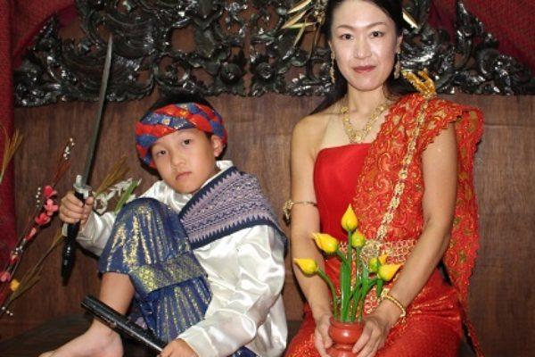 タイ民族衣装撮影