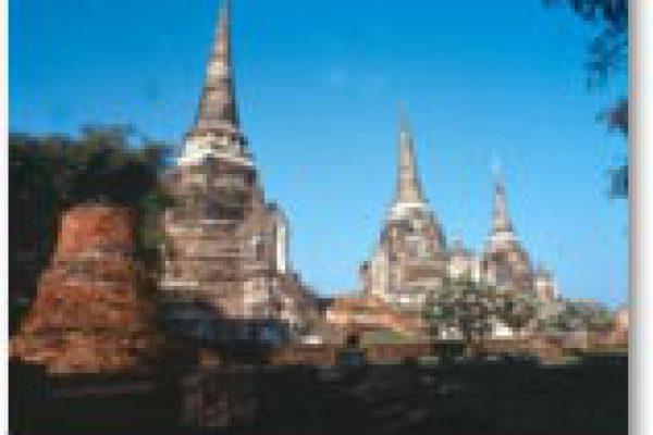 アユタヤ遺跡とバンパイン宮殿ツアー